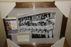 Tom Hanks A League Of Their Own Signed Autographed 13x16 Matted Framed Jsa Coa B