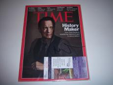 Tom Hanks Actor,forrest Gump,big Jsa/coa Signed Life Magazine