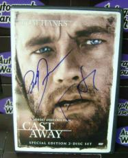 Tom Hanks and Robert Zemeckis autographed DVD (Cast Away)