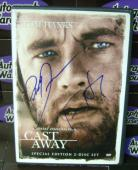Tom Hanks and Robert Zemeckis autographed DVD (Cast Away)