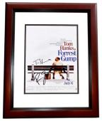 Tom Hanks and Robin Wright Signed - Autographed Forrest Gump 11x17 inch Photo MAHOGANY CUSTOM FRAME - Guaranteed to pass PSA or JSA