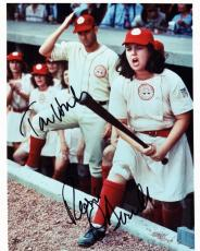 Tom Hanks and Rosie O'Donnell DUAL Signed - Autographed A League of their Own 8x10 Photo