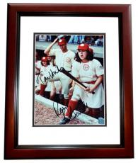 Tom Hanks and Rosie O'Donnell DUAL Signed - Autographed A League of their Own 8x10 Photo MAHOGANY CUSTOM FRAME