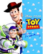 Tom Hanks and Tim Allen Signed - Autographed TOY STORY 11x14 inch Photo - Woody and Buzz Lightyear - Guaranteed to pass PSA or JSA
