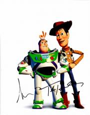 Tom Hanks and Tim Allen Signed - Autographed TOY STORY 11x14 Photo - Woody and Buzz Lightyear