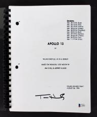 Tom Hanks Apollo 13 Signed Apollo 13 Movie Script BAS #C19691