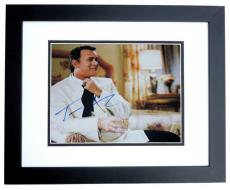 Tom Hanks Autographed 11x14 Photo BLACK CUSTOM FRAME