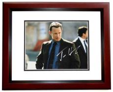 Tom Hanks Autographed 11x14 Photo MAHOGANY CUSTOM FRAME