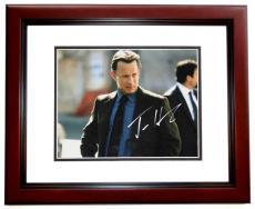 Tom Hanks Autographed 11x14 Photo MAHOGANY CUSTOM FRAME