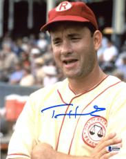"Tom Hanks Autographed 8"" x 10"" A League Of Their Own Arms Crossed Photograph - Beckett COA"