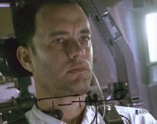 "Tom Hanks Autographed 8"" x 10"" Apollo 13 Photograph - Beckett COA"