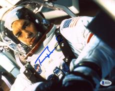 "Tom Hanks Autographed 8"" x 10"" Apollo 13 Wearing Astronaut Suit With Helmet Front View Photograph - Beckett COA"