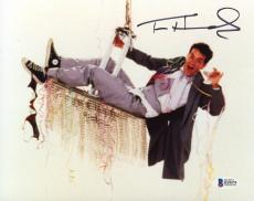 "Tom Hanks Autographed 8"" x 10"" Bachelor Party Photograph - Beckett COA"