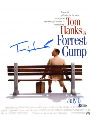 "Tom Hanks Autographed 8"" x 10"" Forrest Gump Movie Photograph - Beckett COA"