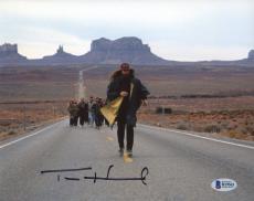 "Tom Hanks Autographed 8"" x 10"" Forrest Gump with Beard Photograph - Beckett COA"