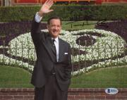 "Tom Hanks Autographed 8"" x 10"" Saving Mr. Banks Walt Disney Photograph - Beckett COA"