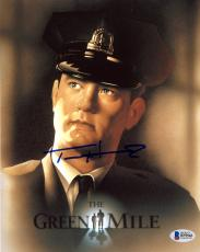 "Tom Hanks Autographed 8"" x 10"" The Green Mile Movie Photograph - Beckett COA"