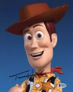 "Tom Hanks Autographed 8"" x 10"" Toy Story Woody Vertical Photograph - Beckett COA"
