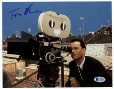 "Tom Hanks Autographed 8""x 10"" That Thing You Do! Looking through Camera Photograph - Beckett COA"