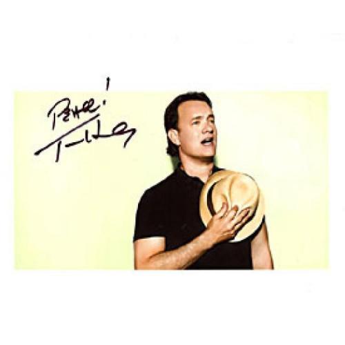 Tom Hanks Autographed Celebrity 8x10 Photo