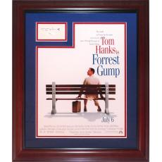 Tom Hanks Autographed Forest Gump 11×17 Movie Poster Frame with Signature – JSA
