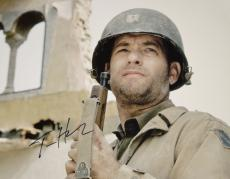 Tom Hanks Autographed Saving Private Ryan 11x14 Photo