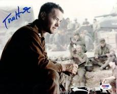 Tom Hanks Autographed Signed 8x10 Photo Saving Private Ryan PSA/DNA #Q93135