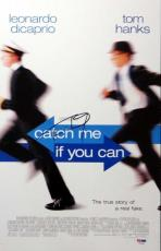 Tom Hanks Autographed Signed Mini Poster Catch Me If You Can PSA/DNA #T14591