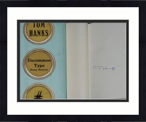 Tom Hanks Autographed Uncommon Type Some Stories Book W/ Proof!