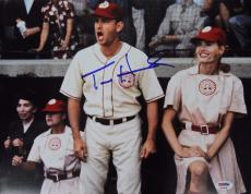 "Tom Hanks Autographed/Signed ""A League of Their Own"" 11x14 Photo (PSA/DNA COA)"