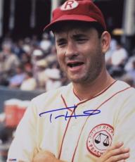 "Tom Hanks Autographed/Signed ""A League of Their Own"" 11x14 Photo (PSA/DNA)"