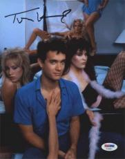 Tom Hanks Bachelor Party Autographed Signed 8x10 Photo Certified PSA/DNA