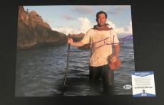 Tom Hanks Cast Away Signed 11x14 Photo Authentic Autograph Bas Beckett Coa 30