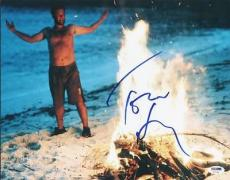 Tom Hanks Cast Away Signed 11X14 Photo Autographed PSA/DNA #U70786