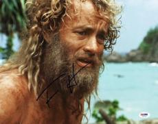 Tom Hanks Cast Away Signed 11X14 Photo Autographed PSA/DNA #V47113