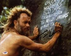 Tom Hanks Cast Away Signed 11X14 Photo Autographed PSA/DNA #W46324