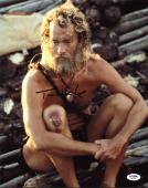Tom Hanks Cast Away Signed 11X14 Photo Autographed PSA/DNA #X44304