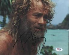 Tom Hanks Cast Away Signed 8X10 Photo Autographed PSA/DNA #T77740