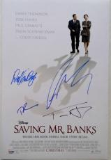 TOM HANKS Colin Farrell DICK VAN DYKE Signed SAVING MR BANKS 12x18 Photo PSA COA