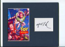 Tom Hanks Disney Voice Toy Story Woody Signed Autograph Photo Display