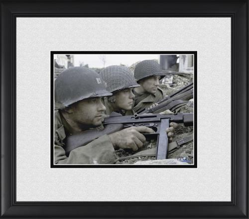 "Tom Hanks, Edward Burns & Matt Damon Saving Private Ryan Framed 8"" x 10"" Photograph"
