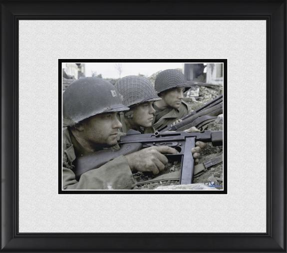 "Tom Hanks, Edward Burns & Matt Damon Saving Private Ryan Framed 8"" x 10"" Photograph"