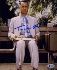 Tom Hanks Forrest Gump Autographed Signed 8x10 Photo Beckett BAS COA