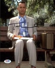 Tom Hanks Forrest Gump Signed 8X10 Photo Autographed PSA/DNA #AB33453