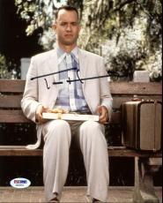 Tom Hanks Forrest Gump Signed 8X10 Photo Autographed PSA/DNA #AB33454