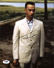 Tom Hanks Forrest Gump Signed 8X10 Photo Autographed PSA/DNA #Z91164