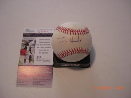 Tom Hanks Forrest Gump,saving Private Ryan,actor Jsa/coa Signed Mlb Baseball