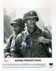 Tom Hanks Jsa Coa Signed Saving Private Ryan 8x10 Photo Authenticated Autograph