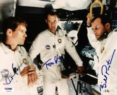 Tom Hanks, Kevin Bacon & Bill Paxton Signed 8X10 Apollo 13 Photo PSA/DNA #V10672