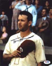 Tom Hanks League of Their Own  Autographed Signed 8x10 Photo Certified PSA/DNA